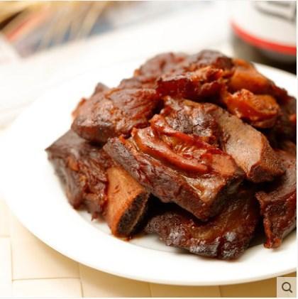 S来伊份无锡酱排骨260g骨香浓郁休闲小吃真空小包装酱香肉类零食